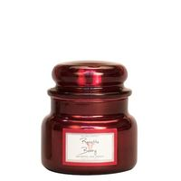 Village candle rosette berry metallic mini jar www sajovi nl