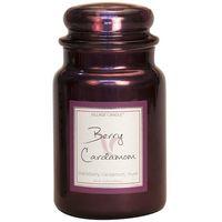 Village candle berry cardamon metallic large jar www sajovi nl