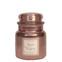 Village candle guava tangerine metallic medium jar www sajovi nl