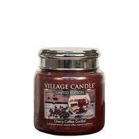 Village candle cherry coffee cordial medium www sajovi nl