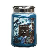 Village candle mermaid tales large jar www sajovi nl