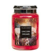 Village candle unicorn dreams large jar www sajovi nl