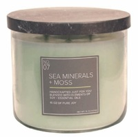 Sea minerals moss village candle soy blended soja kaars candle www sajovi nl