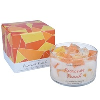 Bomb cosmetics princess peach jelly candle www sajovi nl