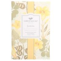 Greenleaf greenleafgifts jasmine jasmijn large sachet fresh floral fris bloemig geurzak geuren schoenen stofzuiger linnenkast wasgoed www sajovi nl