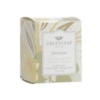 Greenleagfgifts geurkaars candlecube fresh floral fris bloemig votive jasmine jasmijn www greenleafgifts nl www sajovi nl