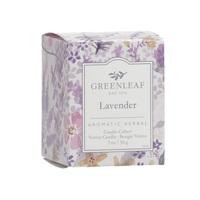 Greenleagfgifts geurkaars candlecube aromatic herbal votive lavender lavendel www greenleafgifts nl www sajovi nl