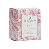 Greenleagfgifts geurkaars candlecube classic floral klassiek bloemig votive roses rozen www greenleafgifts nl www sajovi nl