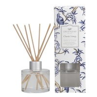 Greenleafgifts classiclinen fresh cleanl fris schoon signature reed diffuser geurstokjes home fragrance oil olie  interieurgeur www sajovi nl