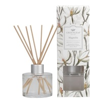 Greenleafgifts magnolia bright floral helder bloemig signature reed diffuser geurstokjes home fragrance oil olie  interieurgeur www sajovi nl