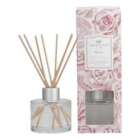 Greenleafgifts roses rozen classic floral klassiek bloemig signature reed diffuser geurstokjes home fragrance oil olie  interieurgeur www sajovi nl