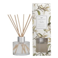 Greenleafgifts vanilla vanille warm sweet warm zoet signature reed diffuser geurstokjes home fragrance oil olie  interieurgeur www sajovi nl