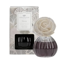 Greenleafgifts greenleaf flowerdiffuser bloemendiffuser haven herbal musk kruidig muskus interieurgeuren huisparfum www greenleafgifts nl www sajovi nl