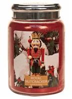 Village candle royal nutcracker notenkraker large candle geurkaarsen interieurgeuren kaars herfst kerst winter www sajovi nl