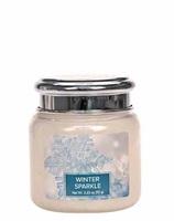 Village candle winter sparkle mini candle geurkaarsen interieurgeuren kaars herfst sneeuw kerst winter www sajovi nl
