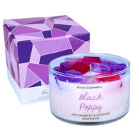 Bomb cosmetics black poppy jelly candle www sajovi nl