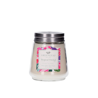 Greenleaf tropical orchid petite candle www greenleafgifts nl