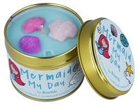 Bomb cosmetics nederland mermaid my day tin candle www sajovi nl