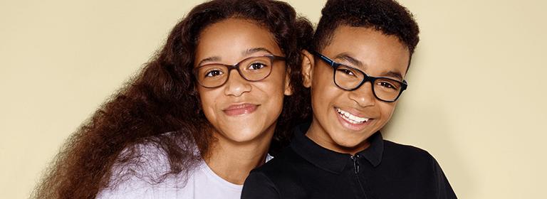 Teen's glasses