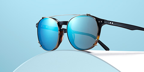 10732fb1eb3 One frame. Two looks. New clip-on sunglasses
