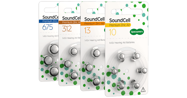 Hearing Aid Batteries Specsavers Uk