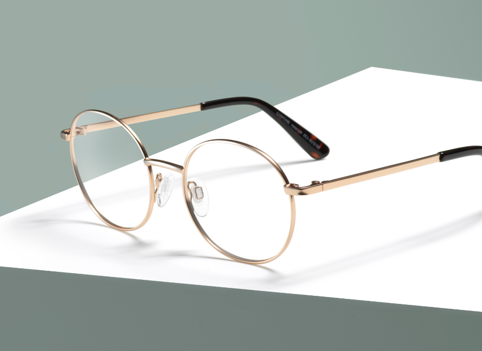 82f73c7c1cd Specsavers HURSTON. SKU 30474512. Perfectly round-eye glasses in a perfect  rose-gold ...