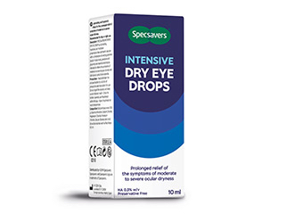 Intensive dry eye drops - Specsavers