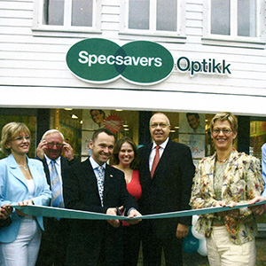 Opened first international store in the Netherlands