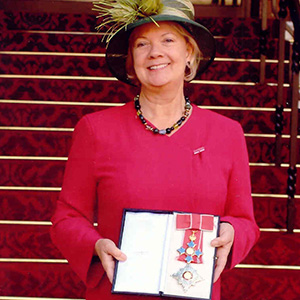 Mary Perkins made a Dame Commander of the Order of the British Empire