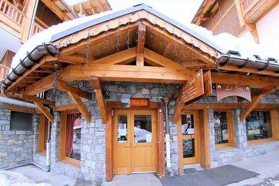 Résidence Chalet Plein Sud: BUITENKANT RESIDENCE PLEIN SUD VAL THORENS FRANKRIJK WINTERSPORT SKI SNOWBOARD LANGLAUFEN INTERLODGE