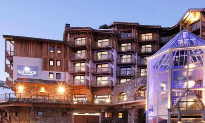 Hotel Koh-I Nor: AANZICHT HOTEL KOH-I NOR VAL THORENS FRANKRIJK WINTERSPORT SKI SNOWBOARD LANGLAUF INTERLODGE