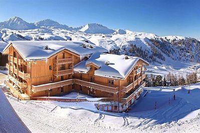 Les Balcons de Belle Plagne: LES BALCONS DE BELLE PLAGNE PARADISKI WINTERSPORT SKI SNOWBOARD LANGLAUF INTERLODGE