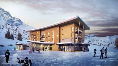 Hotel Taj I Mah: arc-hotel-tajImah-paradiski-wintersport-interlodge