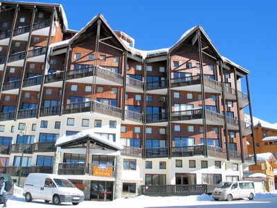 Résidence Silveralp: BUITENKANT SILVERALP VAL THORENS WINTERSPORT FRANKRIJK SKI SNOWBOARD RAQUETTES SCHNEESCHUHLAUFEN LANGLAUFEN WANDELEN INTERLODGE