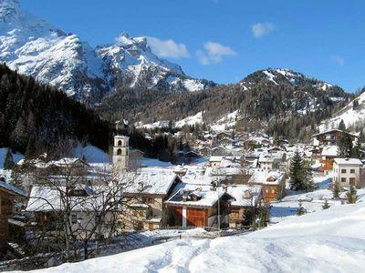 Zoldo: DORP ZOLDO CIVETTA SUPERDOLOMITI WINTERSPORT ITALIE SKI SNOWBOARD RAQUETTES SCHNEESCHUHLAUFEN LANGLAUFEN WANDELEN INTERLODGE