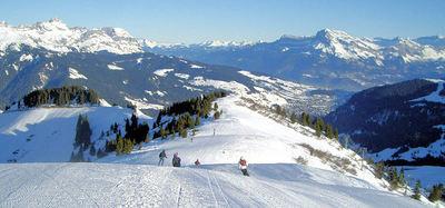 l'Espace Diamant: L ESPACE DIAMANT BAN ROUGE FRANKRIJK WINTERSPORT SKI SNOWBOARD RAQUETTE SCHNEESCHUHLAUFEN LANGLAUFEN WANDELEN INTERLODGE