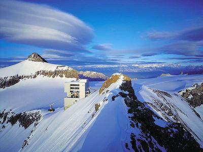 Les Diablerets / Villars: ALPES VAUDOISES  BOTTA DIABLERETS ZWITSERLAND WINTERSPORT SKI SNOWBOARD RAQUETTE SCHNEESCHUHLAUFEN LANGLAUFEN WANDELEN INTERLODGE