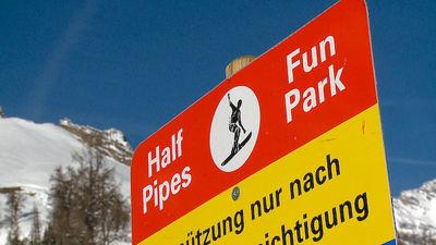Ovronnaz: BORD FUNPARK OVRONNAZ ZWITSERLAND WINTERSPORT SKI SNOWBOARD RAQUETTE SCHNEESCHUHLAUFEN LANGLAUFEN WANDELEN INTERLODGE