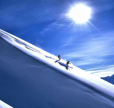 Arlberg: ARLBERG OOSTENRIJK WINTERSPORT SKI SNOWBOARD RAQUETTE SCHNEESCHUHLAUFEN LANGLAUFEN WANDELEN INTERLODGE