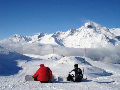 Val Cenis Vanoise : BOARDERS VAL CENIS FRANKRIJK WINTERSPORT SKI SNOWBOARD RAQUETTE SCHNEESCHUHLAUFEN LANGLAUFEN WANDELEN INTERLODGE