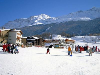 Val Cenis: CENTRUM VAL CENIS WINTERSPORT FRANKRIJK SKI SNOWBOARD RAQUETTES LANGLAUFEN WANDELEN INTERLODGE