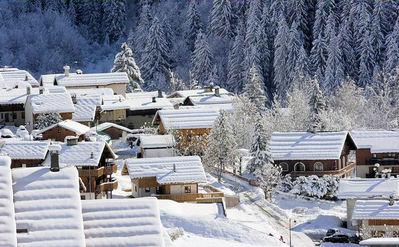 Résidences du Roc Blanc: CHAMPAGNY EN VANOISE PARADISKI CHALETS WINTERSPORT FRANKRIJK SKI SNOWBOARD RAQUETTES LANGLAUFEN WANDELEN INTERLODGE