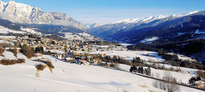 Ziano di Fiemme: ZIANO DOLOMITI SUPERSKI ITALIE WINTERSPORT SKI SNOWBOARD RAQUETTES SCHNEESCHUHLAUFEN LANGLAUFEN WANDELEN INTERLODGE
