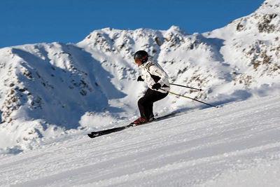 Serfaus-Fiss-Ladis: AFDALING SKIER SERFAUS FISS LADIS ERSTE SPUR OOSTENRIJK WINTERSPORT SKI SNOWBOARD RAQUETTE SCHNEESCHUHLAUFEN LANGLAUFEN WANDELEN INTERLODGE