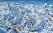 Val d' Isère: PISTEKAART VAL D ISERE ESPACE KILLY INTERLODGE