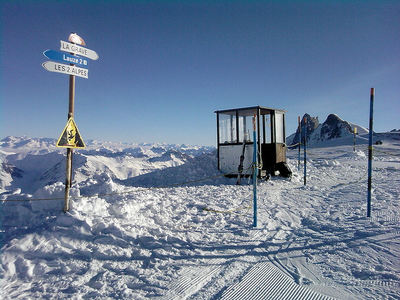 Les 2 Alpes: 2 ALPES SKIGEBIED FRANKRIJK WINTERSPORT SKI SNOWBOARD RAQUETTE SCHNEESCHUHLAUFEN LANGLAUFEN WANDELEN INTERLODGE