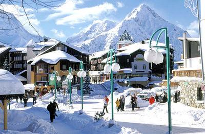 Les 2 Alpes: 2 ALPES CENTRUM WINTERSPORT FRANKRIJK SKI SNOWBOARD RAQUETTES SCHNEESCHUHLAUFEN LANGLAUFEN WANDELEN INTERLODGE