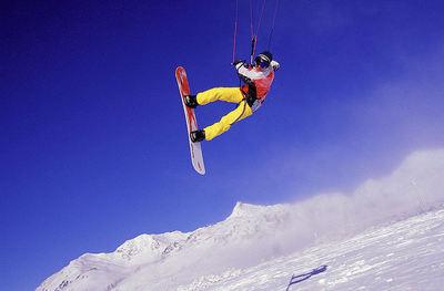 Obertauern: BOARDER OP KITE OBERTAUERN OOSTENRIJK WINTERSPORT SKI SNOWBOARD RAQUETTE SCHNEESCHUHLAUFEN LANGLAUFEN WANDELEN INTERLODGE