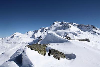Espace San Bernardo: ESPACE SAN BERNARDO FORT LA ROSIERE FRANKRIJK WINTERSPORT SKI SNOWBOARD RAQUETTE SCHNEESCHUHLAUFEN LANGLAUFEN WANDELEN INTERLODGE