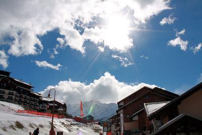 Vallandry: DORP VALLANDRY PARADISKI WINTERSPORT FRANKRIJK SKI SNOWBOARD RAQUETTES SCHNEESCHUHLAUFEN LANGLAUFEN WANDELEN INTERLODGE